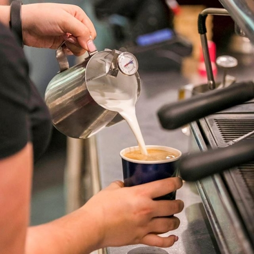 If coffee is at the foundation of your food pyramid, you'll love the baristas at Pasqualina's Deli Cafe just as much as we do! . . . #coffee #coffeelover #caffeine #latte #kellyville #cafe #kellyvillevillage